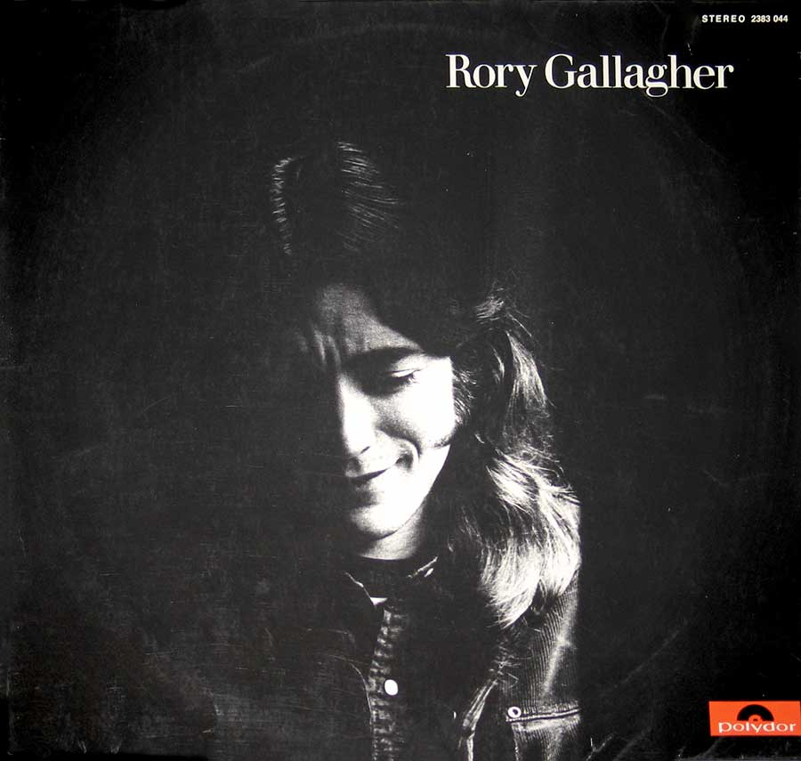 "RORY GALLAGHER - Self-titled 12"" VINYL LP ALBUM album front cover"