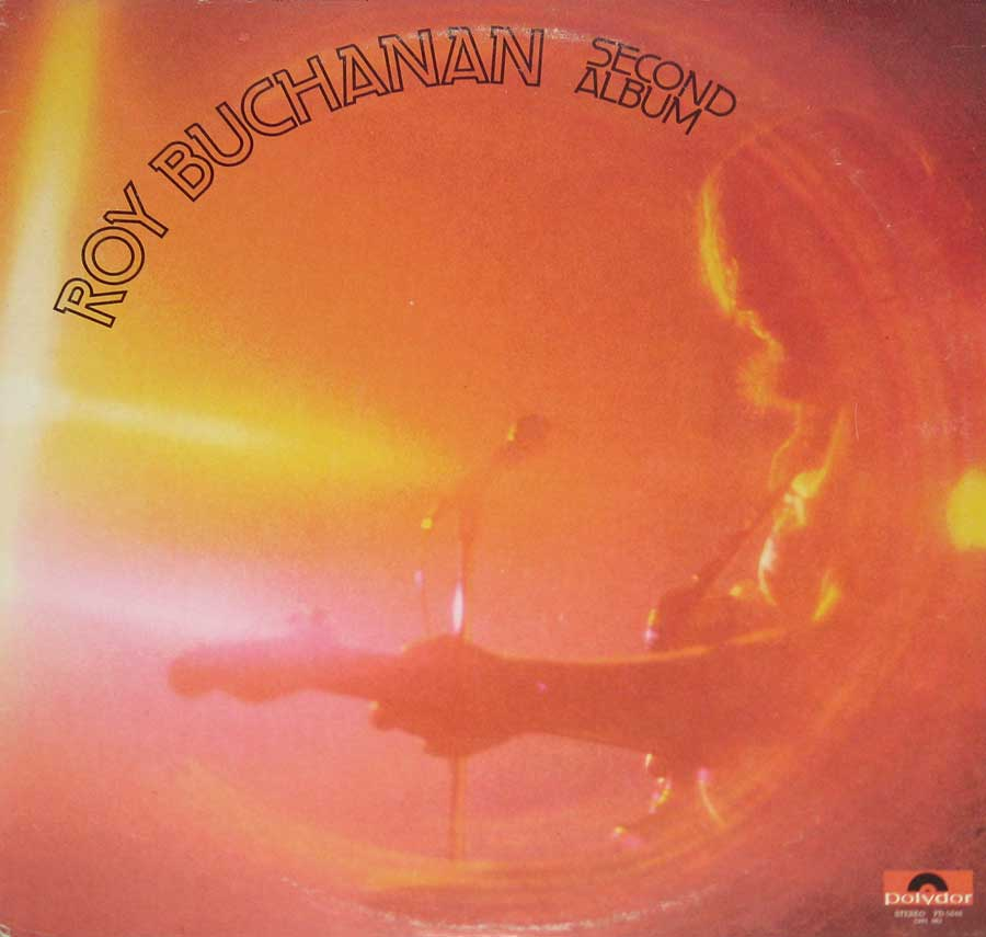 "ROY BUCHANAN - Second Album - 12"" VINYL LP ALBUM front cover https://vinyl-records.nl"