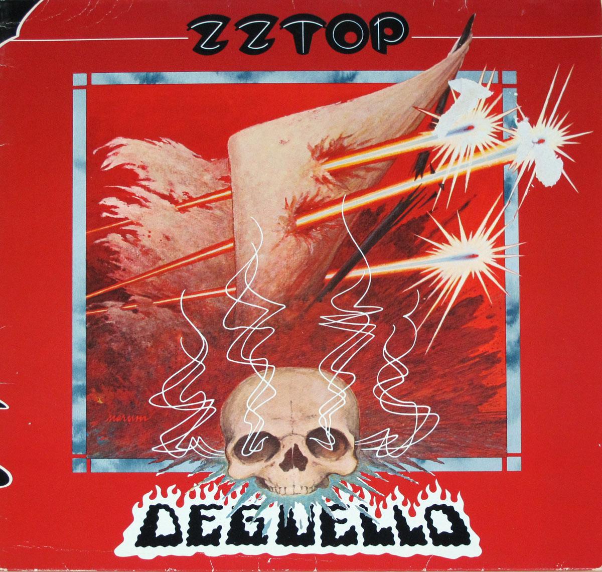 "ZZ TOP Degüello Tex-Mex Blues-Rock 12"" LP Vinyl Album Cover Gallery & Information #vinylrecords"