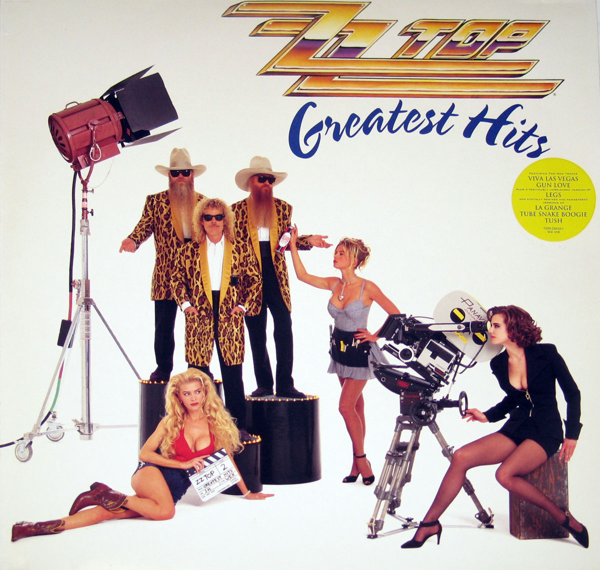 High Resolution Photos of zz top greatest hits