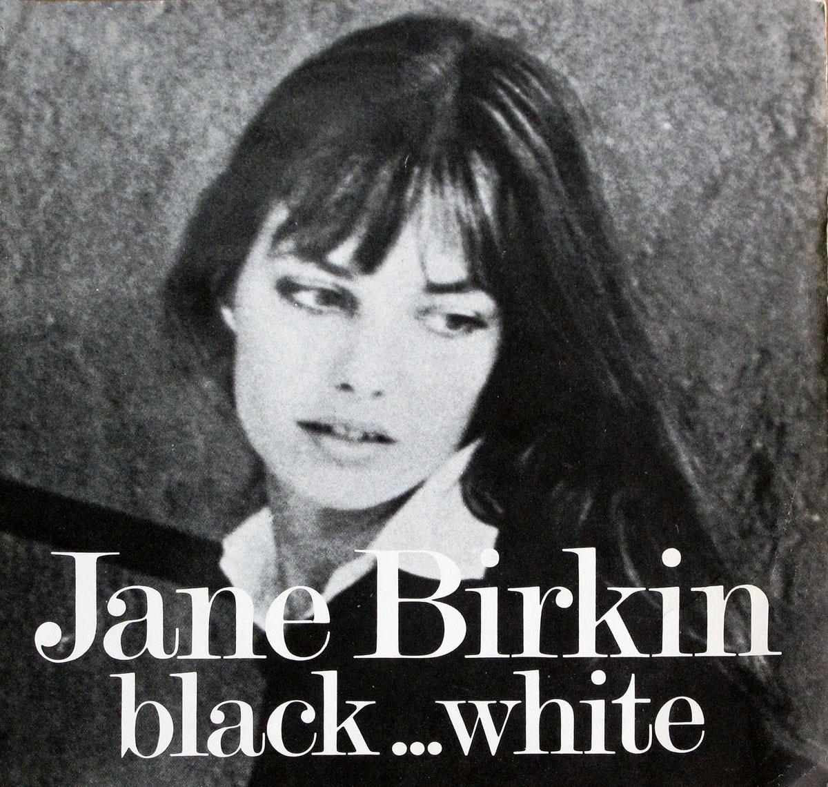 High Resolution Photo #1 JANE BIRKIN - Black & White