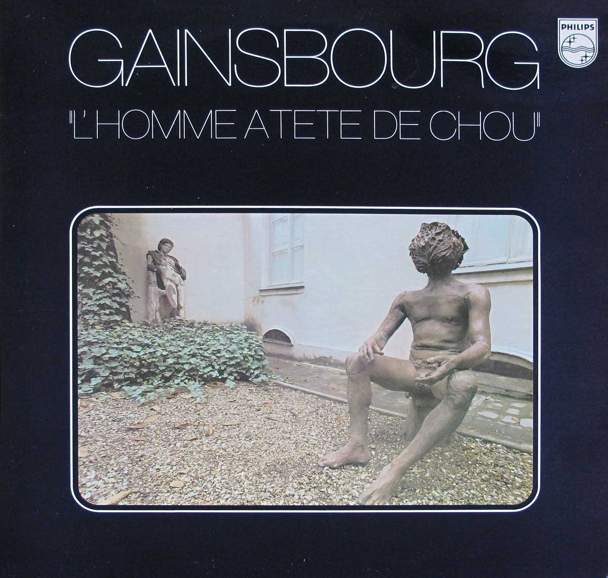 large photo of the album front cover of: SERGE GAINSBOURG - L'Homme a Tete de Chou