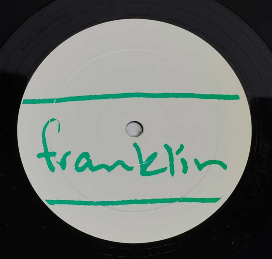 "Close-up Record Label photo of ""FRANKLIN - Go Kid Go"""