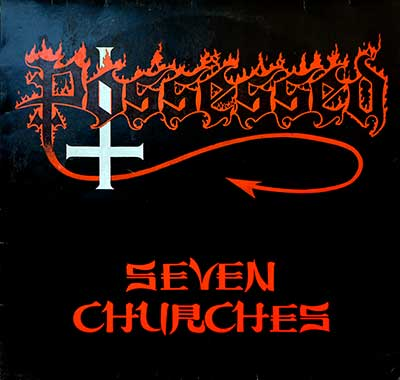 "POSSESSED - Seven Churches ( 1985, Netherlands ) 12"" LP"