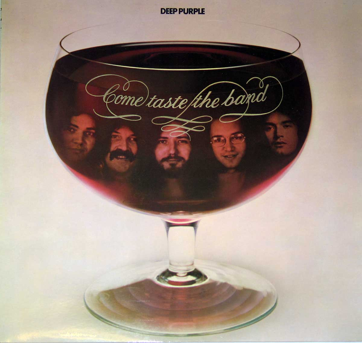 large photo of the album front cover of: DEEP PURPLE Come Taste The Band England