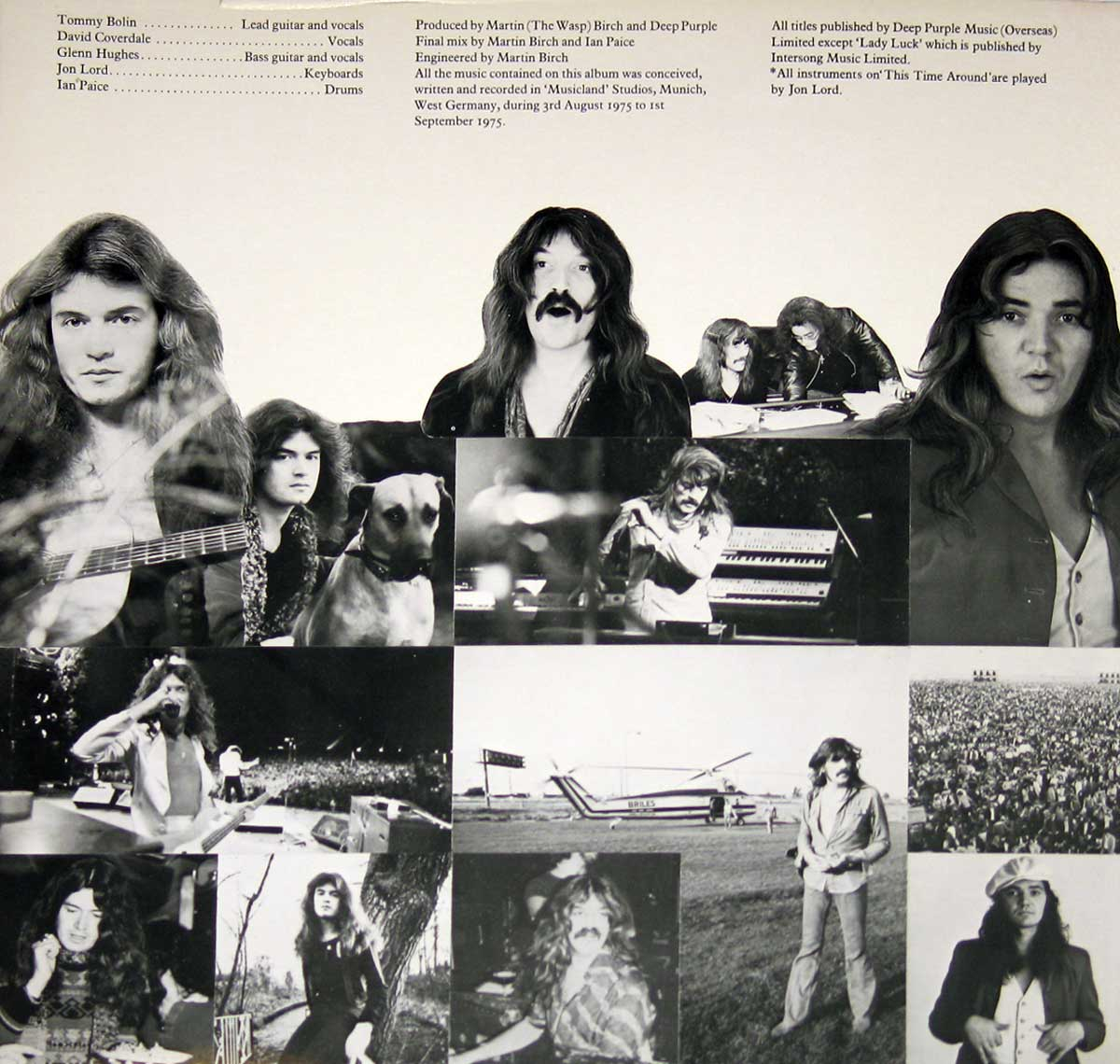 High Resolution #3 Photo DEEP PURPLE Come Taste The Band France