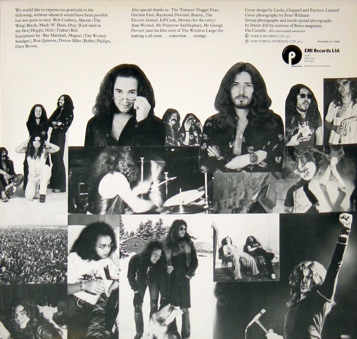 High Resolution #4 Photo DEEP PURPLE Come Taste The Band France
