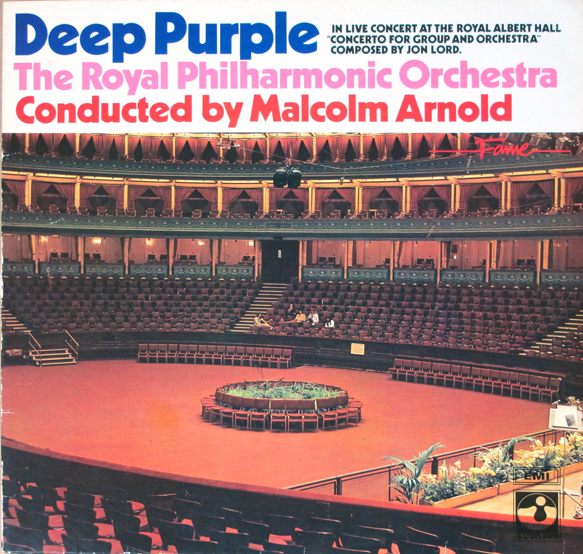 Album Front Cover Live at the Royal Albert Hall with The Royal Philharmonic Orchestra