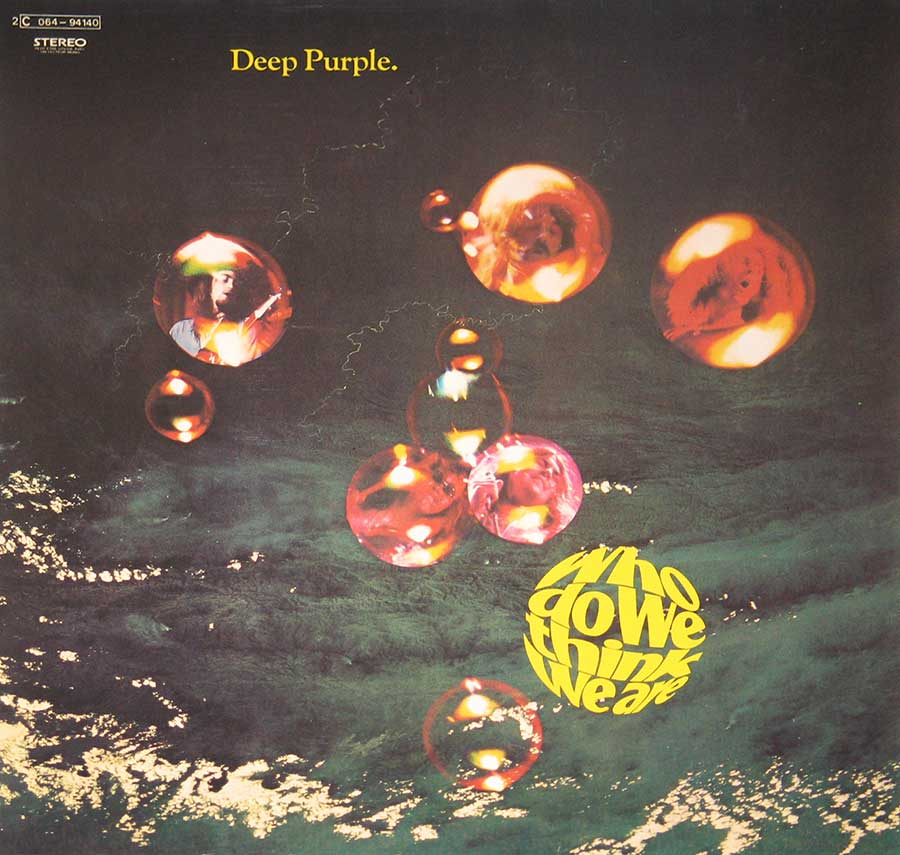 Deep Purple Who Do We Think We Are ( France ) Banner photo