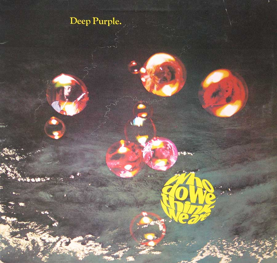 Deep Purple Who Do We Think We Are UK GB  Banner photo