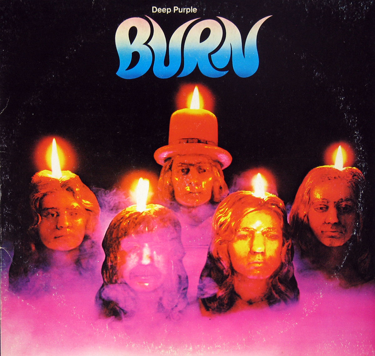 High Resolution #1 Photo DEEP PURPLE Burn Italy
