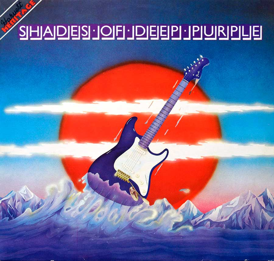 High Resolution Photo Album Front Cover of DEEP PURPLE – Shades Of Deep Purple https://vinyl-records.nl