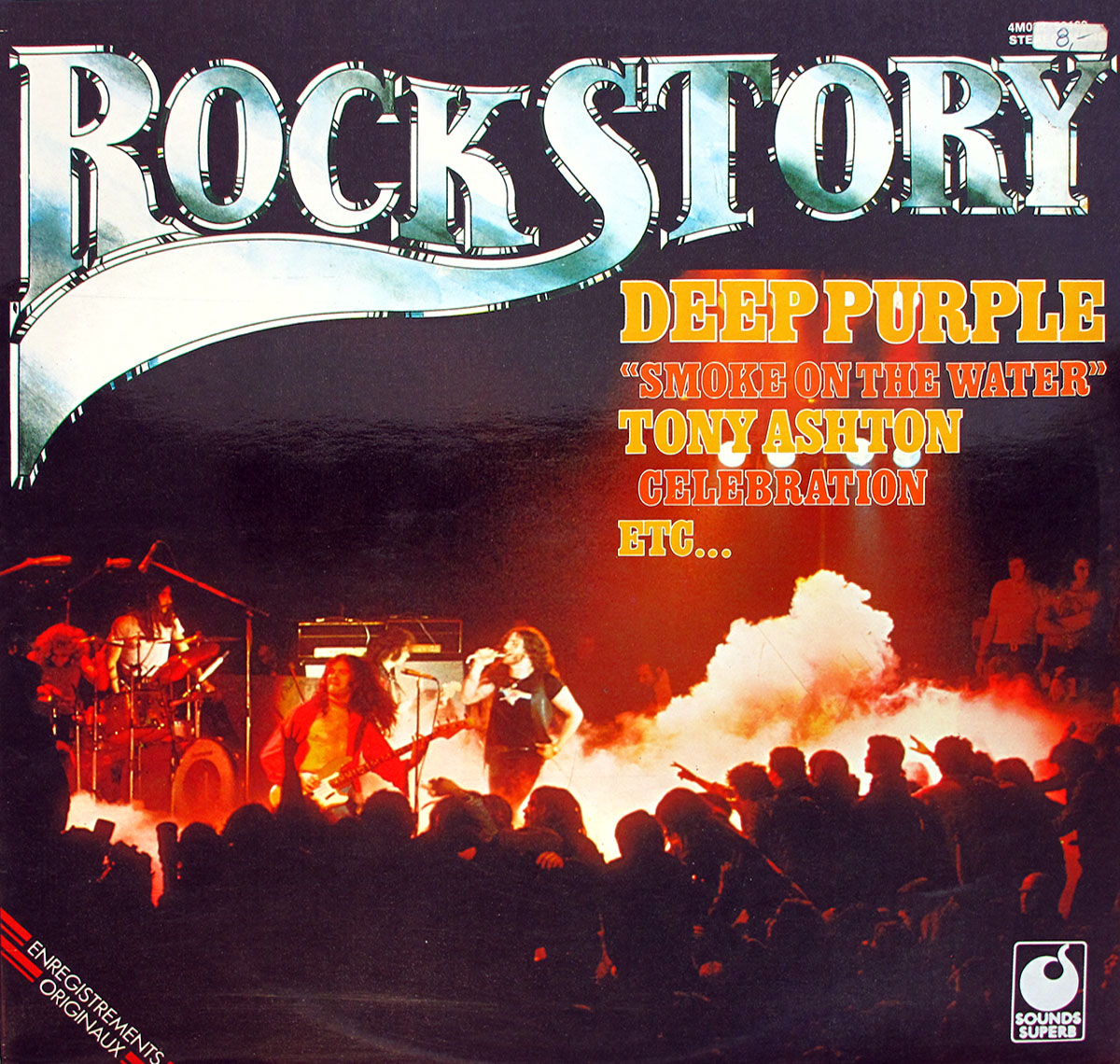 High Resolution # Photo DEEP PURPLE Rock Story