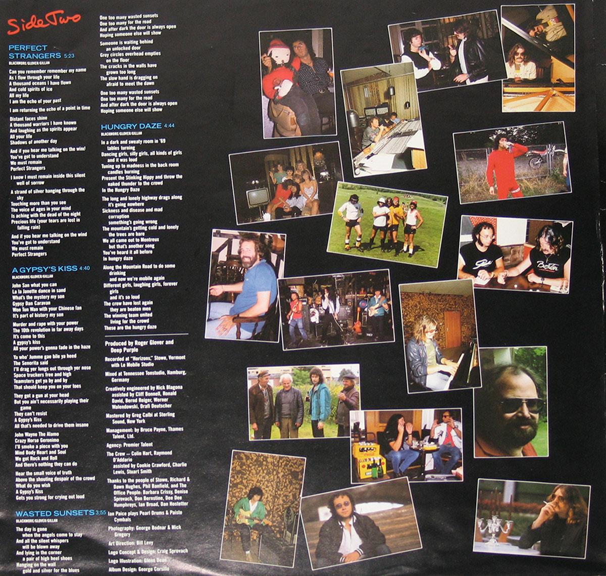 DEEP PURPLE Perfect Strangers English Hard Rock , Early Heavy ...