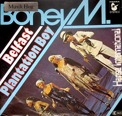 BONEY M - Belfast / Plantation Boy