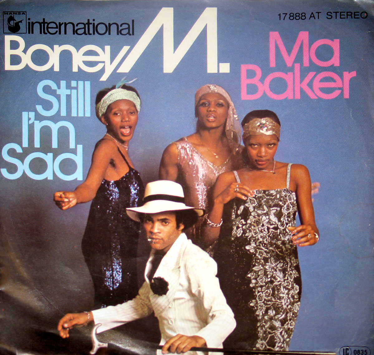 High Resolution Photo BONEY M. Ma Baker / Still I'm Sad