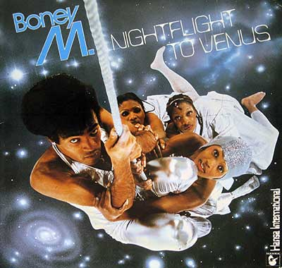 BONEY M - Nightflight to Venus incl postcards