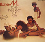 BONEY M - Take The Heat Off Me with Poster .