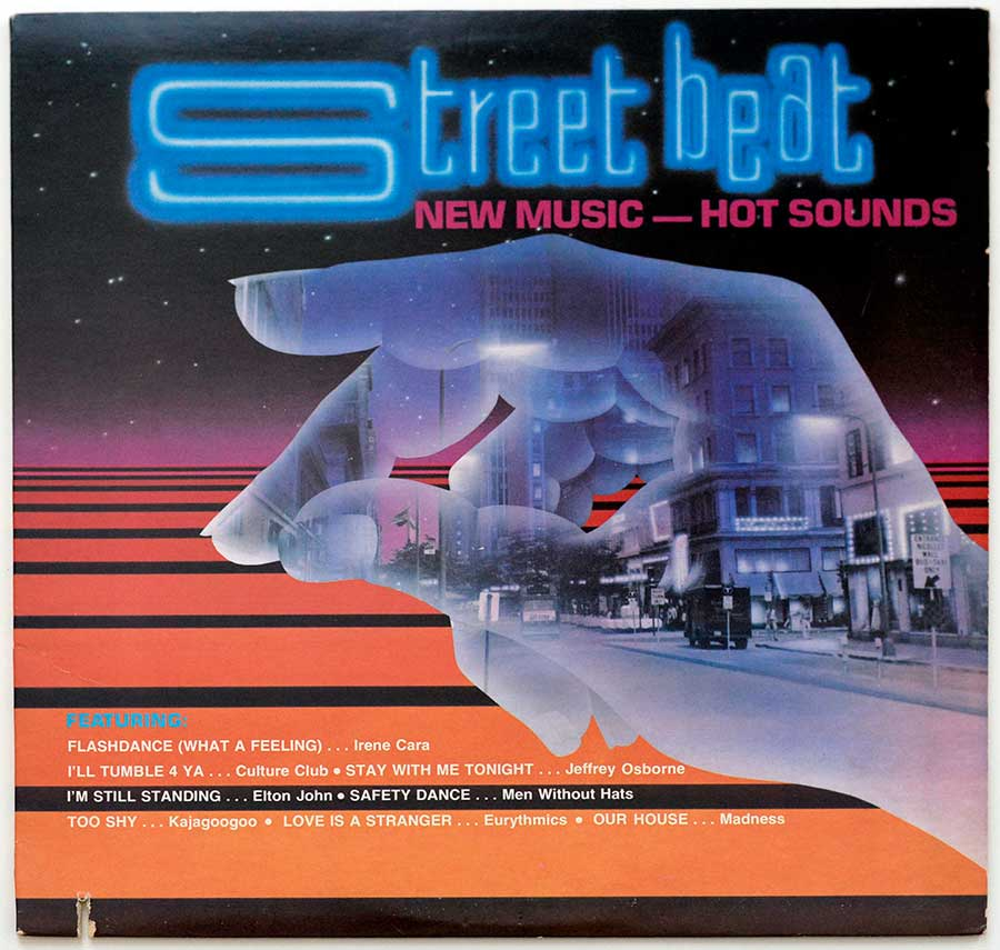 "Album Front Cover Photo of VARIOUS ARTISTS - Street Beat New Music Hot Sounds 12"" Vinyl LP Album"