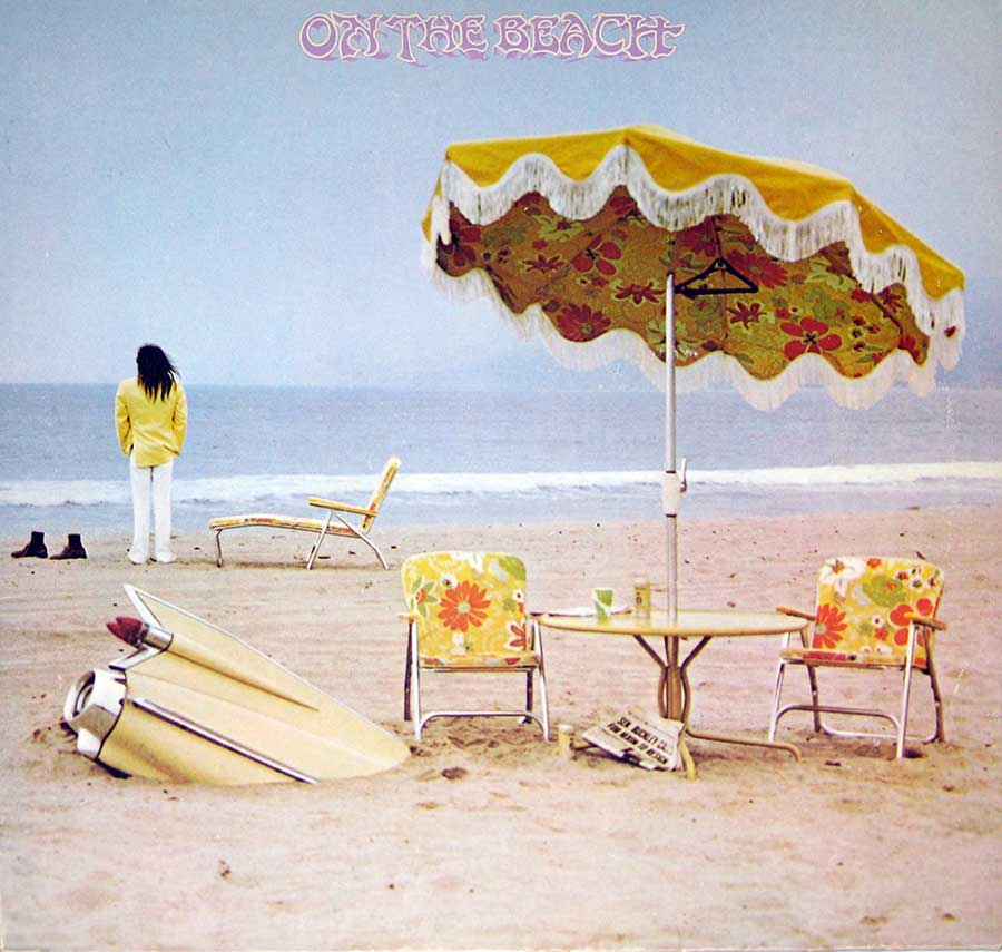large photo of the album front cover of: Neil Young - On the Beach
