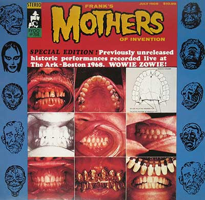 "Thumbnail of FRANK'S MOTHERS OF INVENTION – The Ark 12"" Vinyl LP album front cover"