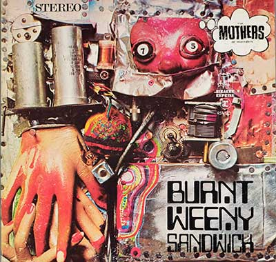 "Thumbnail of THE MOTHERS OF INVENTION - Burnt Weeny Sandwich 12"" Vinyl LP album front cover"