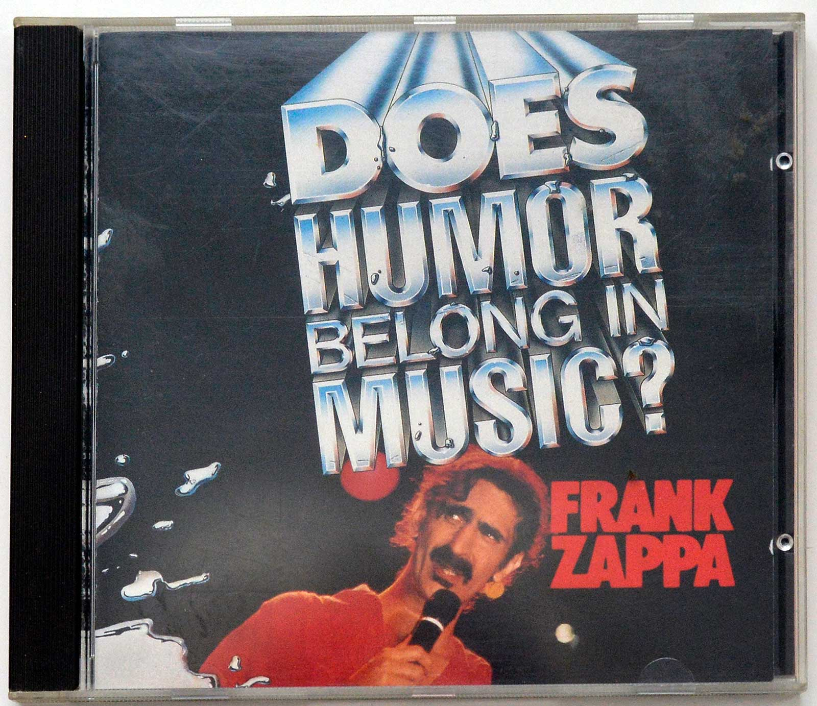Album Front Cover Photo of FRANK ZAPPA - Does Humor Belong To Music