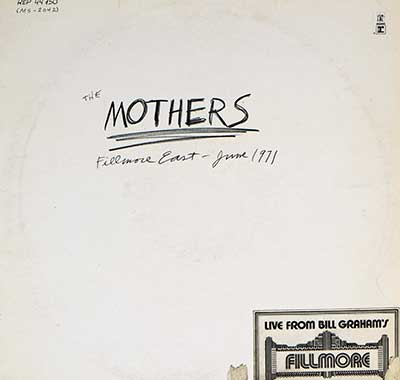 "Thumbnail of THE MOTHERS - Fillmore East June 1971 12"" Vinyl LP album front cover"
