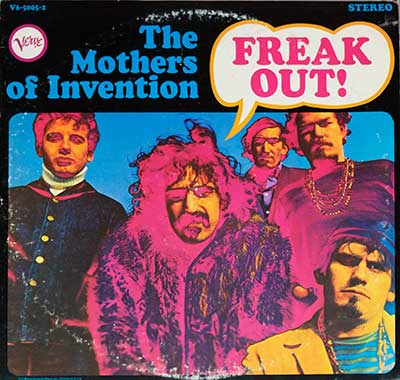 "Thumbnail of THE MOTHERS OF INVENTION - Freak Out! 12"" Vinyl LP album front cover"