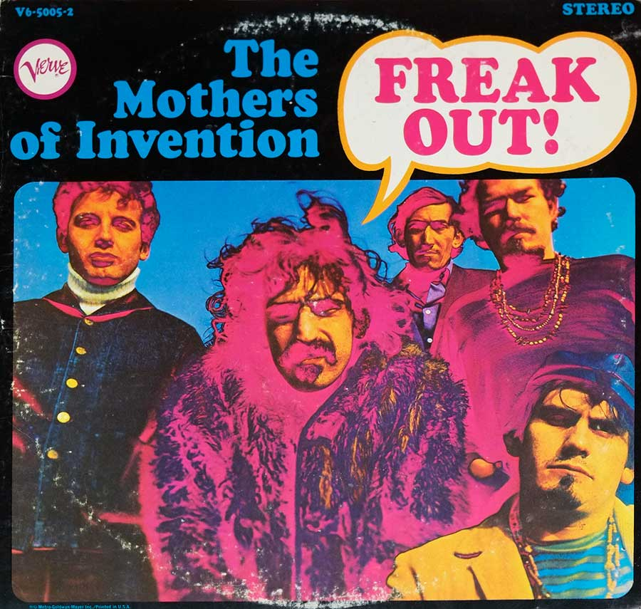 Album Front Cover Photo of THE MOTHERS OF INVENTION - FREAK OUT!