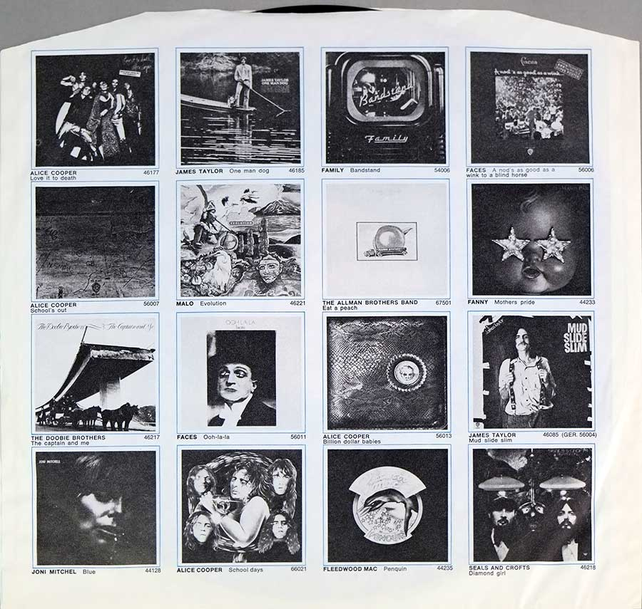 "Photo Two of the original custom inner sleeve  FRANK ZAPPA & THE MOTHERS - Grand Wazoo Gatefold 12"" LP Vinyl Album"
