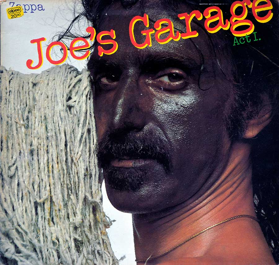 "FRANK ZAPPA - Joe's Garage Act I Gatefold 12"" Vinyl LP Album   front cover https://vinyl-records.nl"