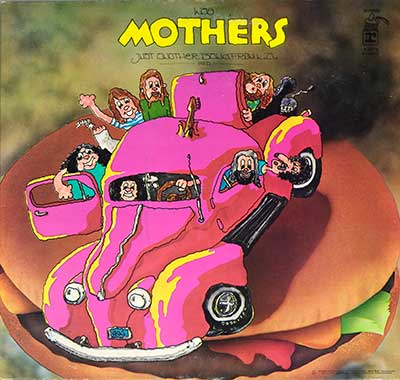 "Thumbnail of THE MOTHERS - Just Another Band from L.A. ( UK ) 12"" Vinyl LP album front cover"