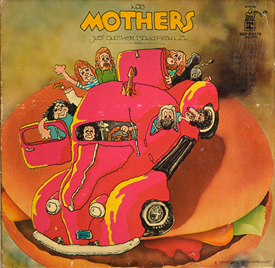 "Thumbnail of THE MOTHERS OF INVENTION - Just Another Band from L.A. ( Germany ) 12"" Vinyl LP album front cover"