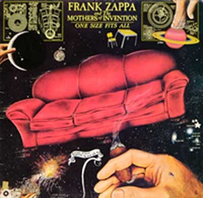 "Thumbnail of FRANK ZAPPA & MOTHERS OF INVENTION - One Size Fits All 12"" Vinyl LP album front cover"