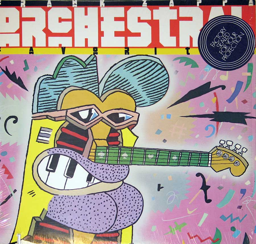 "Front Cover of ""Orchestral Favorites"" by ""Frank Zappa"""