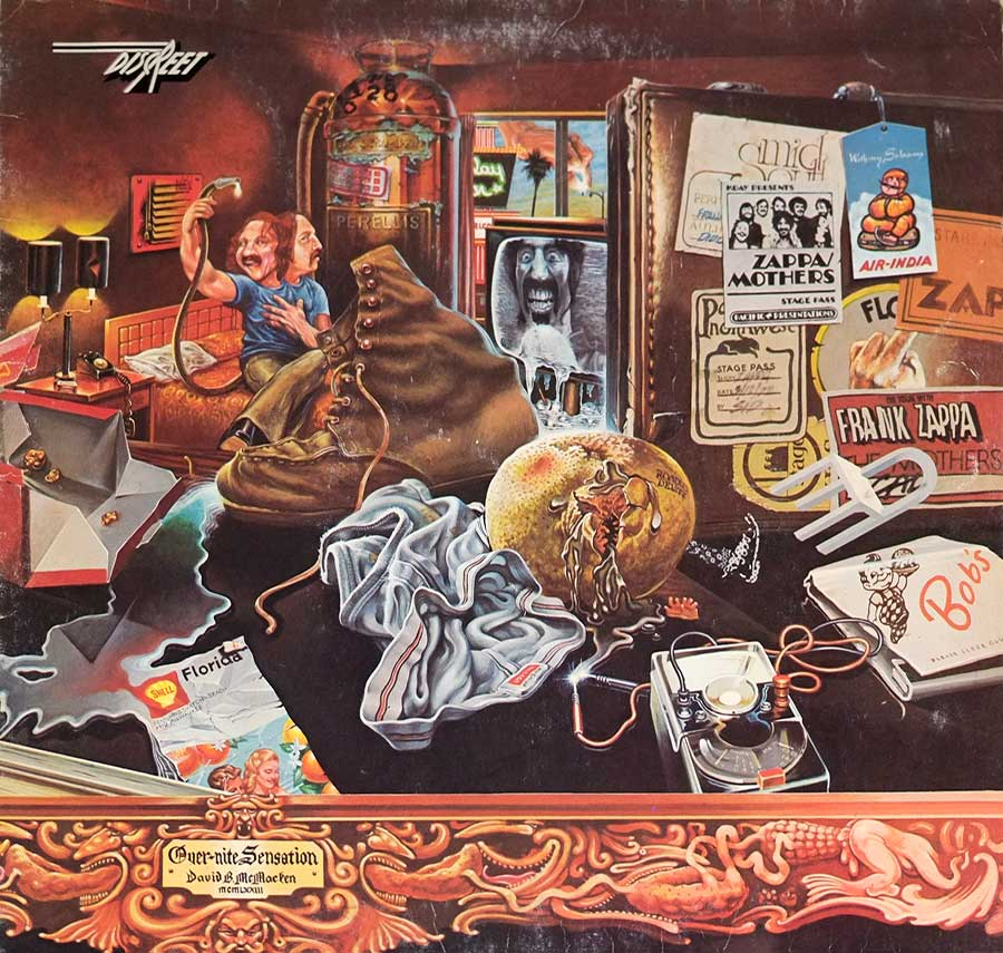 Album Front Cover Photo of MOTHERS OF INVENTION - Over-Nite Sensation
