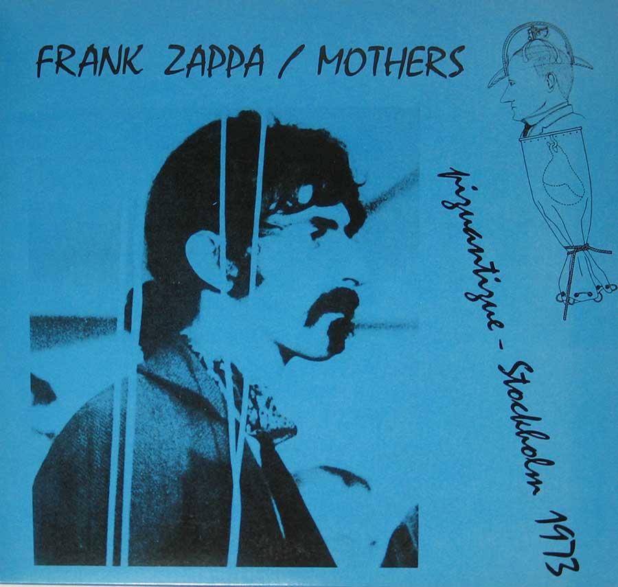 "FRANK ZAPPA - Piquantique Stockholm 1973 12"" Vinyl LP Album  front cover https://vinyl-records.nl"