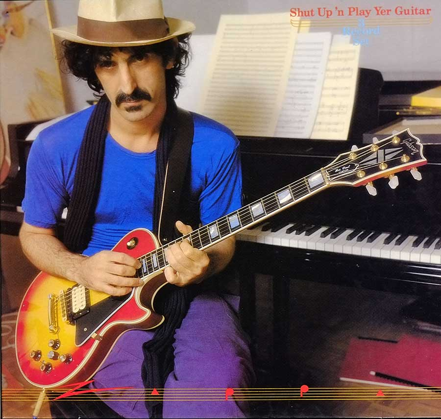 "FRANK ZAPPA - Shut Up 'N Play Yer Guitar 3LP BOX-SET 12"" VINYL  album front cover"