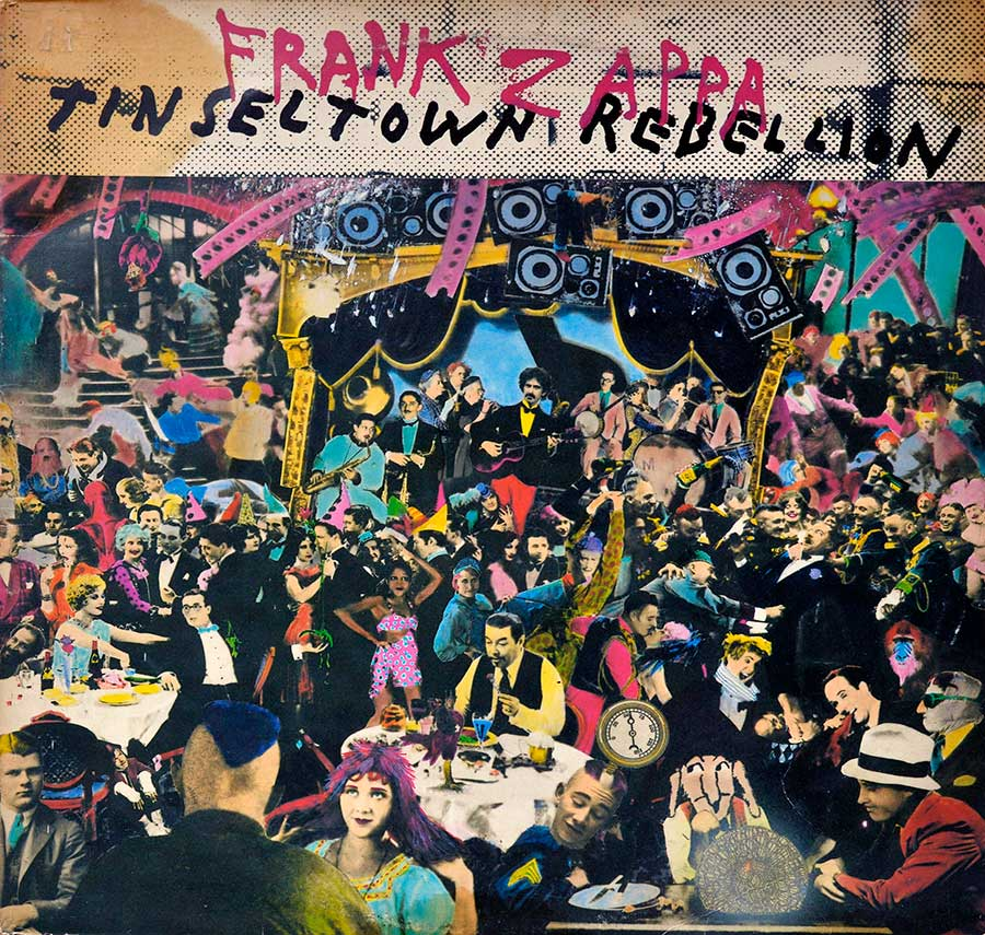 Front Cover Photo Of FRANK ZAPPA - Tinsel Town Rebellion