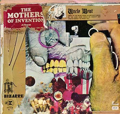 "Thumbnail of THE MOTHERS OF INVENTION - Uncle Meat 12"" Vinyl LP album front cover"