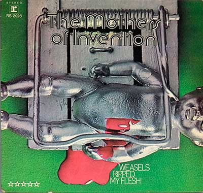 "Thumbnail of THE MOTHERS OF INVENTION - Weasels Ripped my Flesh 12"" Vinyl LP album front cover"