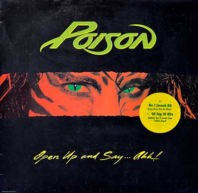 Picture Of POISON - Open Up And Say Ah censored Album Cover album front cover