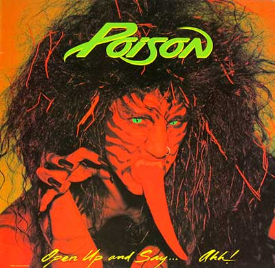 Thumbnail Of  POISON - Open Up and Say AH album front cover