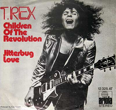 Thumbnail of T. REX - Children of the Revolution / Jitterbug Love album front cover