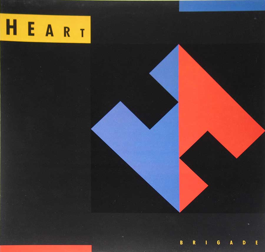 Photo of Front Cover of Heart's Brigade album
