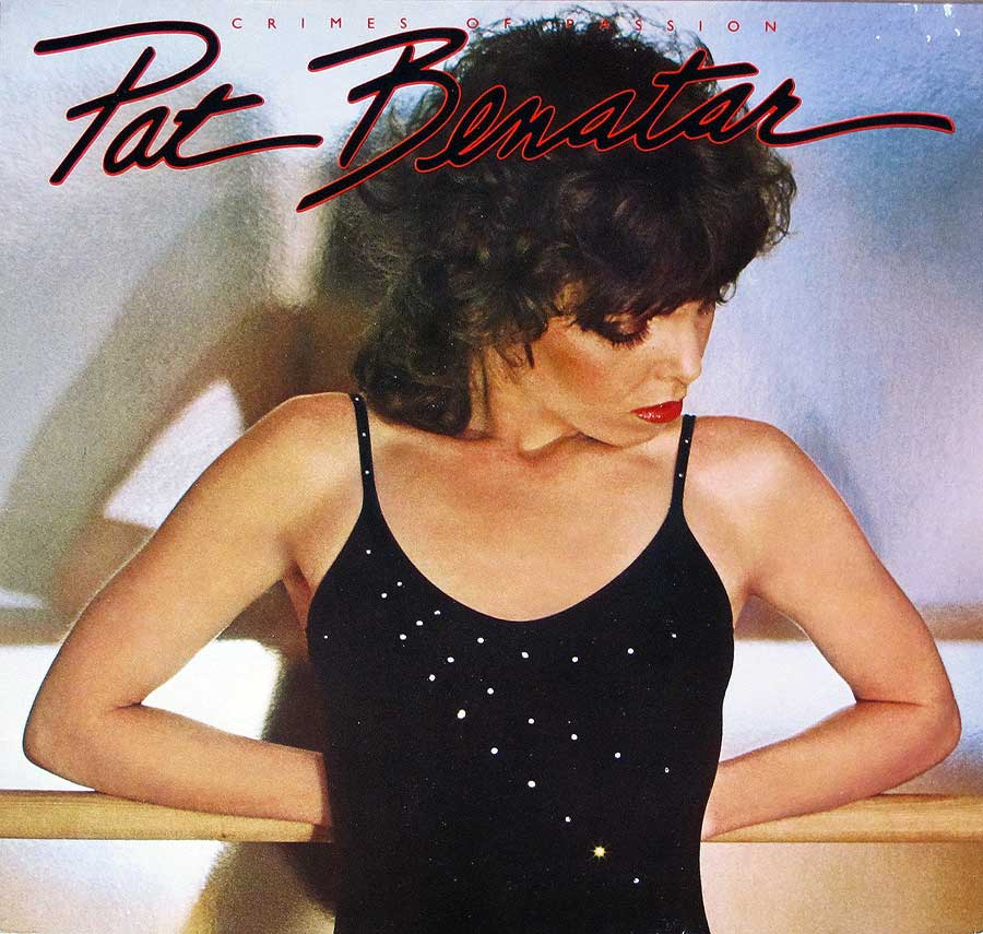 "High Quality Photo of Album Front Cover  ""PAT BENATAR - Crimes of Passion"""