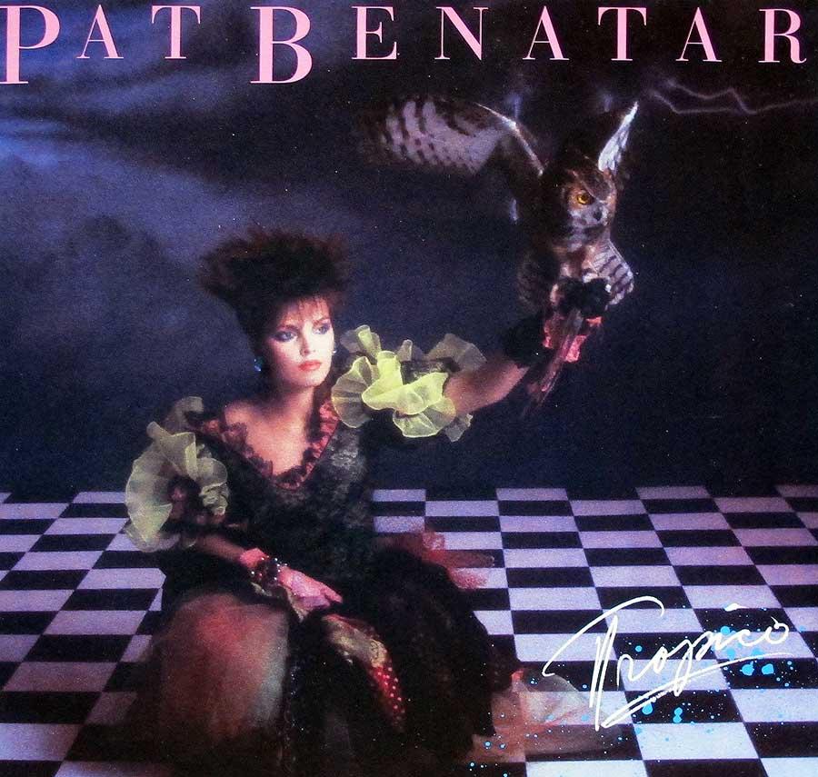 """PAT BENATAR Tropico Hard Arena-Rock 12"""" LP Vinyl Album"""