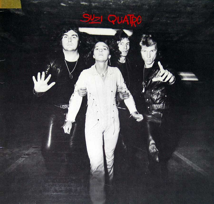 Album Front Cover Photo of SUZI QUATRO - Aggro-Phobia