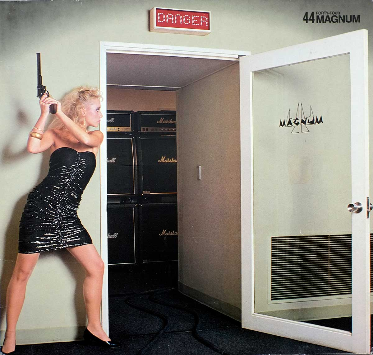 large album front cover photo of: 44 MAGNUM  DANGER